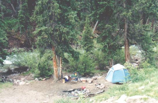 1st camp site