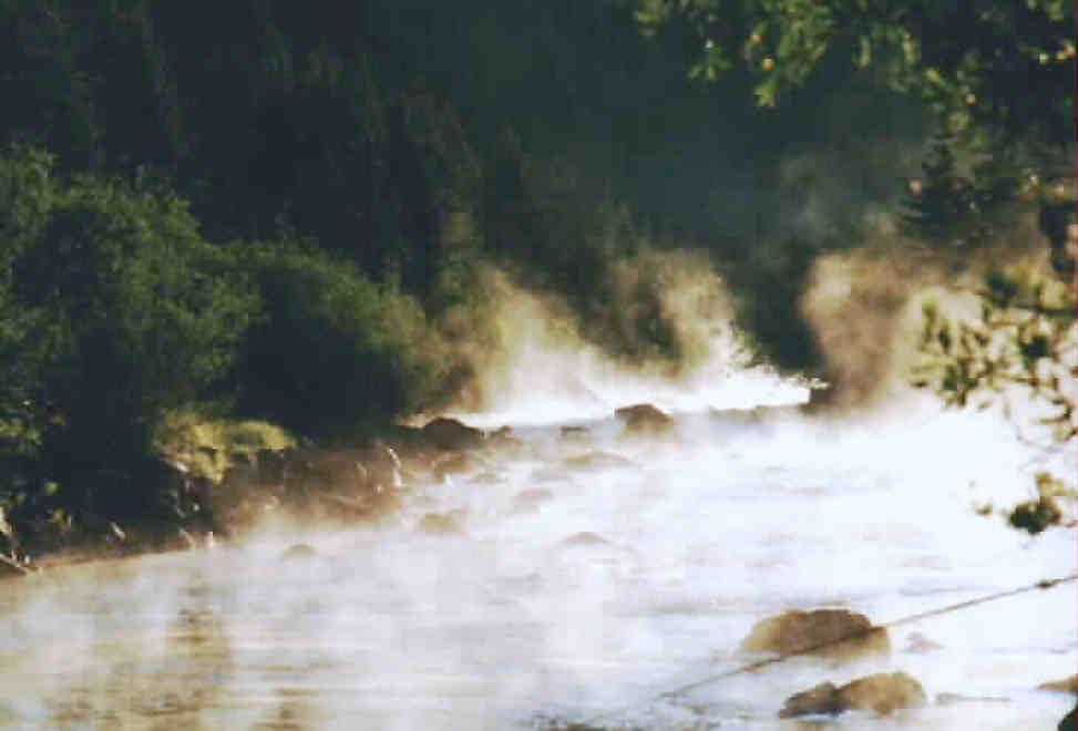 Rio Grande early morning